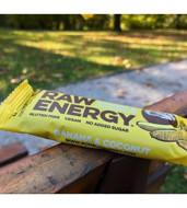 BOMBUS Batonėlis RAW ENERGY Bananai&kokosas, 50g paveikslėlis