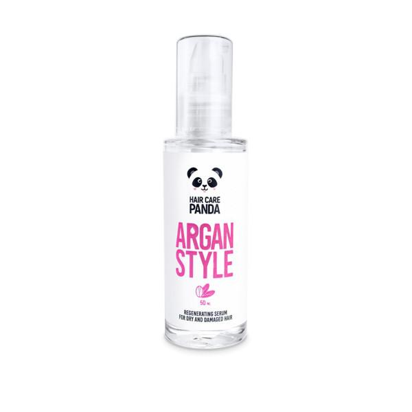 HAIR CARE PANDA, argano serumas plaukams, 50 ml