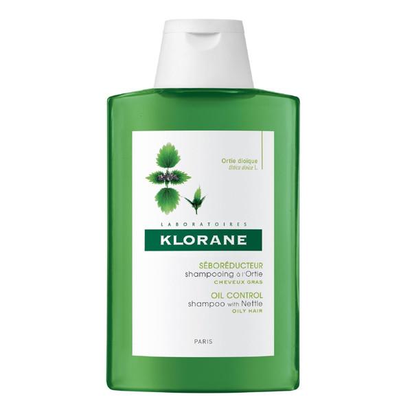 KLORANE DILGĖLIŲ, šampūnas riebiems plaukams, 200 ml paveikslėlis