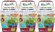 FLEUR ALPINE ekologiškas OBUOLIŲ-VYŠNIŲ sulčių gėrimas vaikams nuo 8 mėn, 200 ml x 3 vnt. paveikslėlis