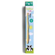 BABU vaikiškas bambukinis dantų šepetėlis, labai minkštas paveikslėlis