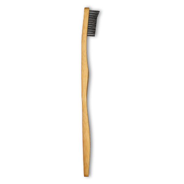 BABU Bambukinis dantų šepetėlis su aktyvinta anglimi paveikslėlis