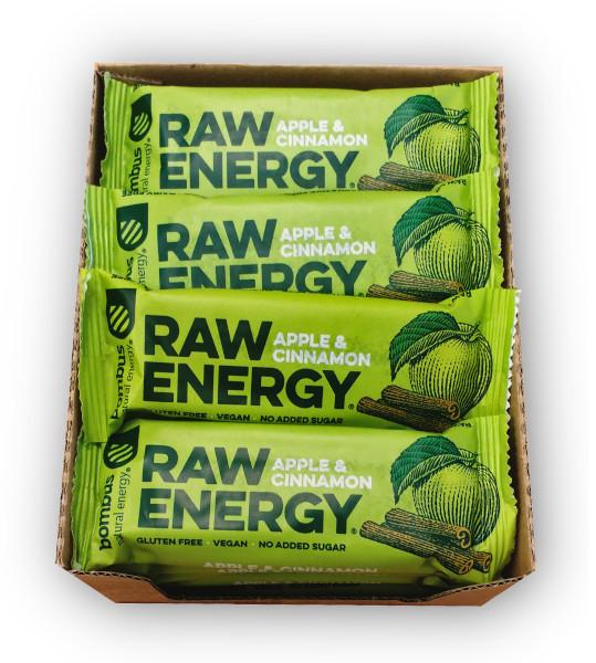 RAW ENERGY batonelis, Obuolys & Cinamonas, 50g, 20vnt. paveikslėlis