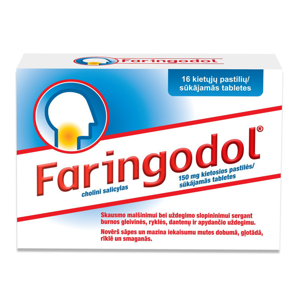FARINGODOL, 150 mg, kietosios pastilės, N16  paveikslėlis