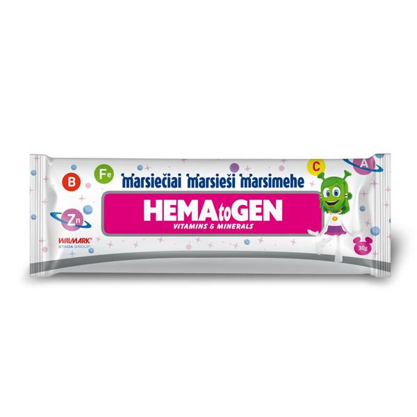 Marsiečiai hematogenas su vitaminais ir mineralais paveikslėlis