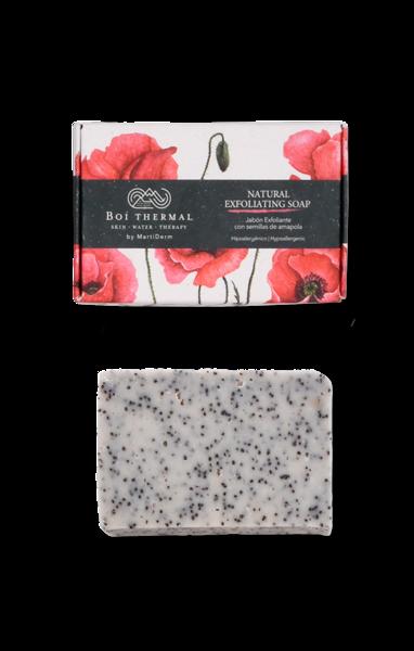 MARTIDERM BOI THERMAL natūralus šveičiamasis muilas NATURAL EXFOLIATING SOAP, 100 g paveikslėlis
