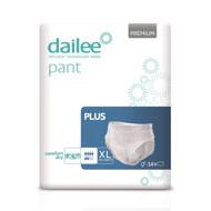 DAILEE PANT sauskelnės-kelnaitės PREMIUM PLUS XL, 130-160 cm, 14 vnt. paveikslėlis