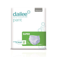 DAILEE PANT sauskelnės-kelnaitės PREMIUM SUPER L, 100-150 cm, 14 vnt. paveikslėlis