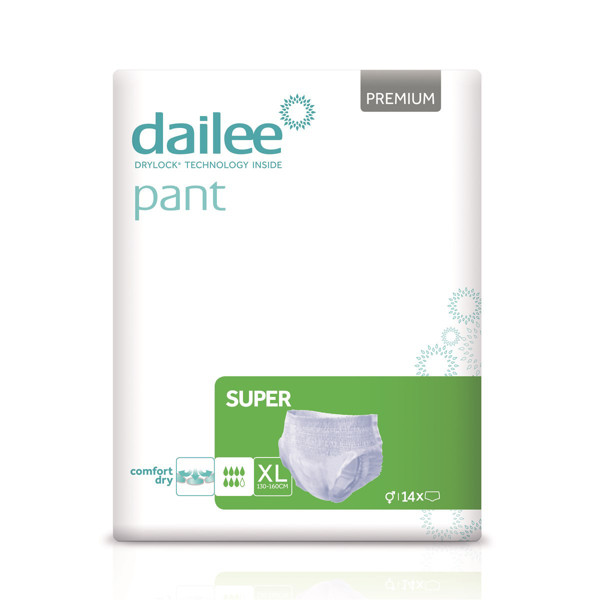 DAILEE PANT sauskelnės-kelnaitės PREMIUM SUPER XL 120-175 cm, 14 vnt. paveikslėlis