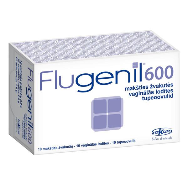 FLUGENIL 600, 10 ovulių paveikslėlis