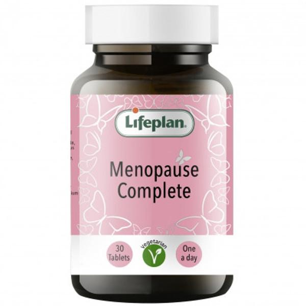 LIFEPLAN MENOPAUSE COMPLETE,  kompleksas moterims menopauzės laikotarpiui, 30 tablečių paveikslėlis