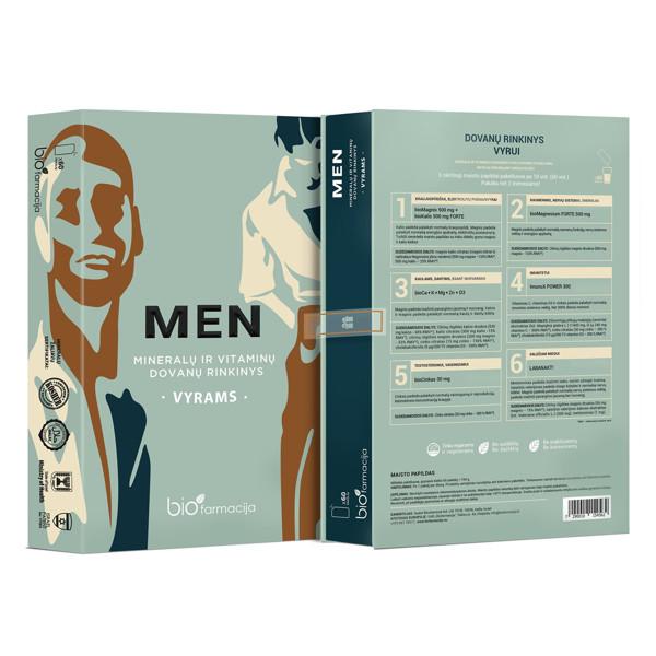 Dovanų rinkinys vyrams MEN, 60 vnt. paveikslėlis