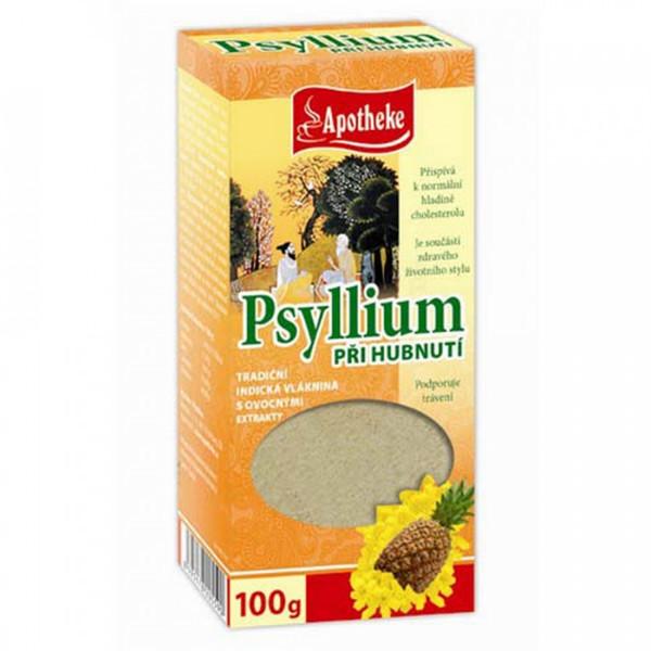 APOTHEKE PSYLLIUM, su ananasu, 100 g paveikslėlis
