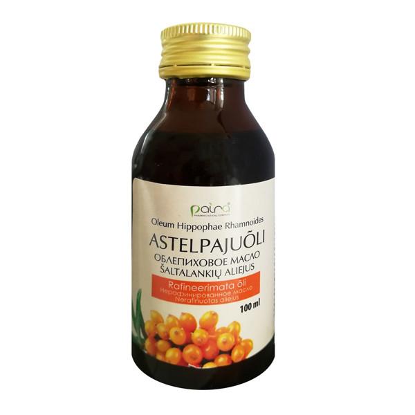 NATURALNYJE MASLA, šaltalankių aliejus (Hippopheae oleum), 100 ml paveikslėlis