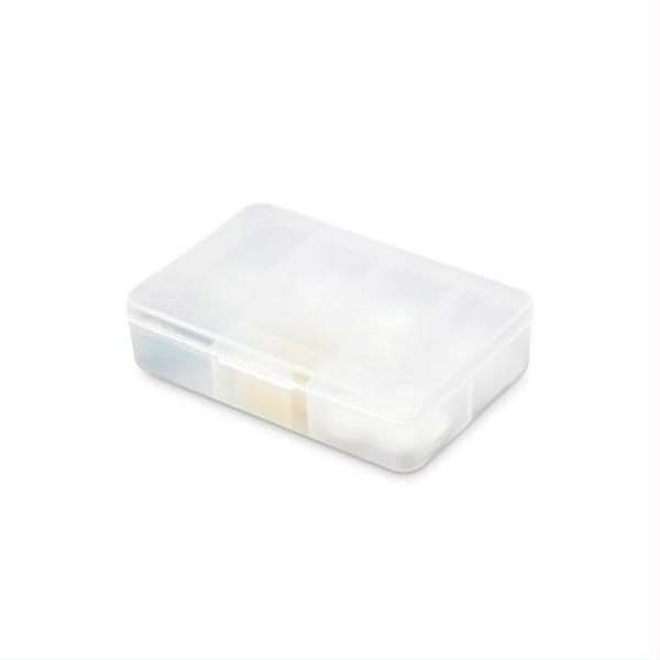 Dėžutė vaistams, septynių skyrių  paveikslėlis