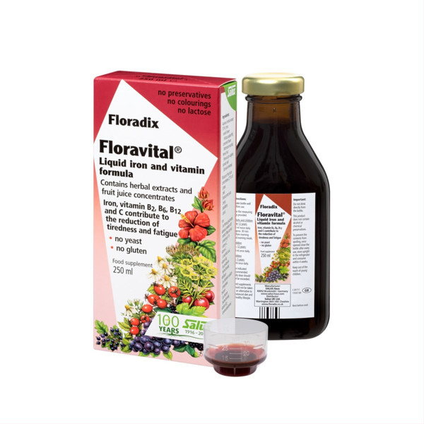 FLORADIX FLORAVITAL, 250 ml paveikslėlis