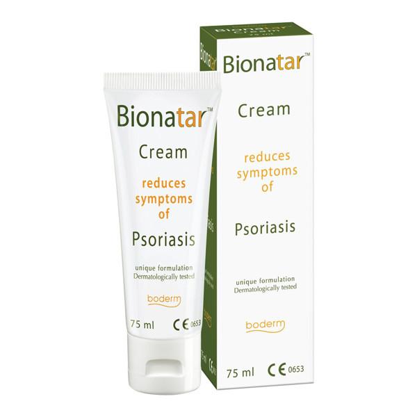 BIONATAR, kremas psoriazės ir seborėjinio dermatito požymiams mažinti, 75 ml paveikslėlis