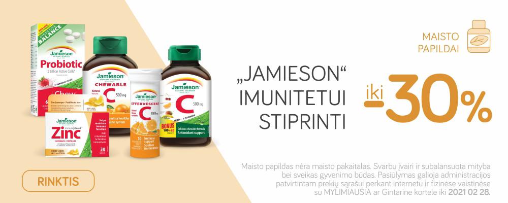 Jamiesons imunitetui stiprinti -30proc.