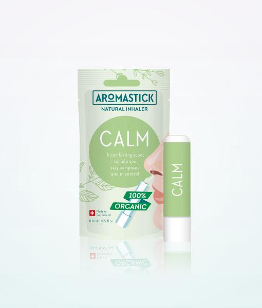 """Aromastick 100% natūralus uostukas - nosies ihaliatorius """"Calm"""" paveikslėlis"""