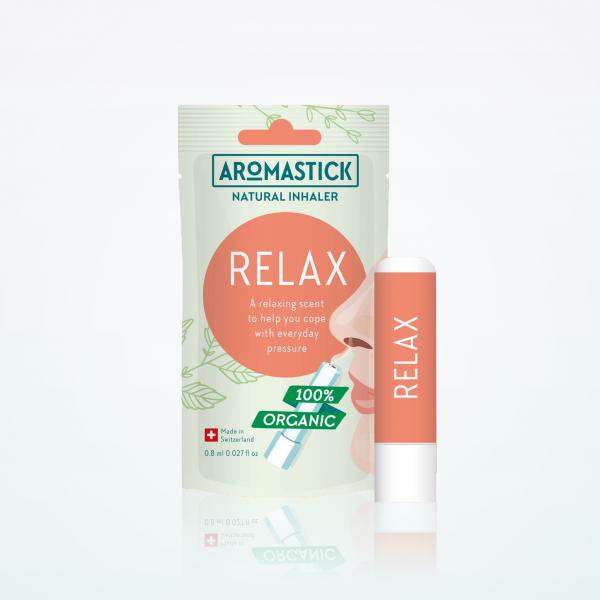 """Aromastick 100% natūralus uostukas - nosies inhaliatorius """"Relax"""" paveikslėlis"""