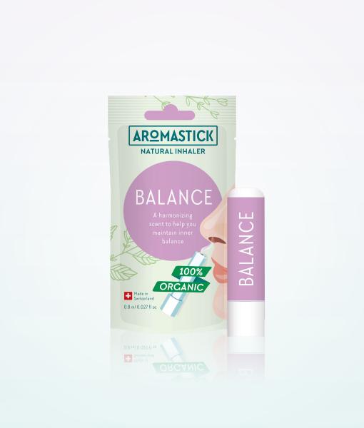 """Aromastick 100% natūralus uostukas - nosies inhaliatorius """"Balance"""" paveikslėlis"""