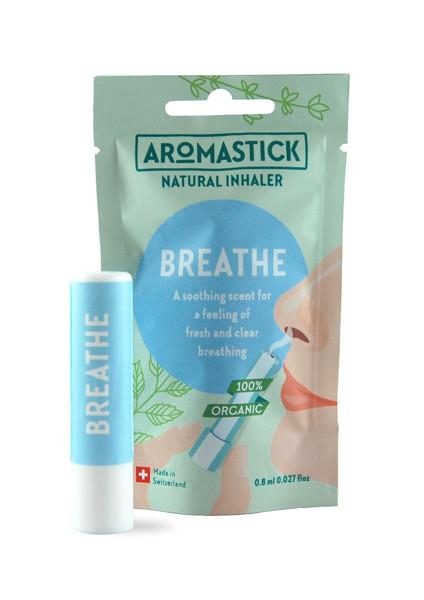 """Aromastick 100 % natūralus uostukas - nosies inhaliatorius """"Breathe"""" paveikslėlis"""