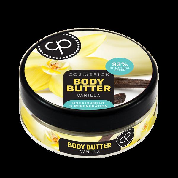 Cosmepick kūno sviestas su vanile Perfect Body, 200 ml paveikslėlis