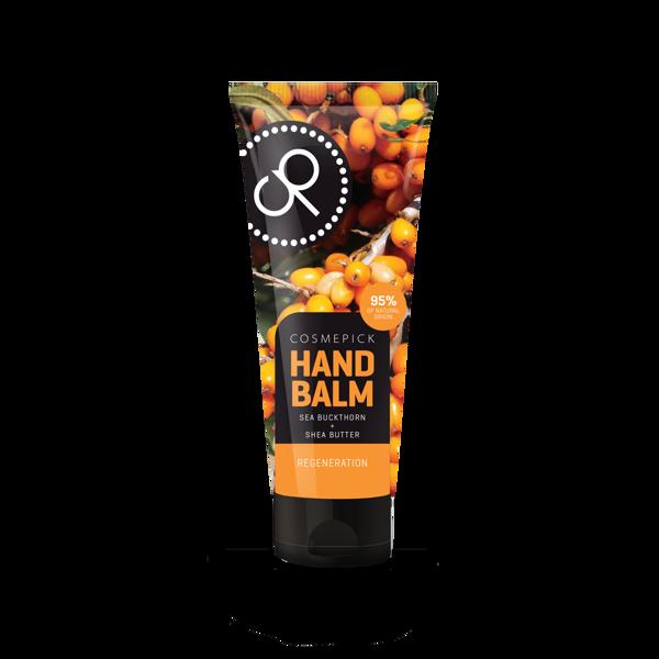 Cosmepick rankų balzamas su šaltalankių ir taukmedžio sviestu, 80ml paveikslėlis