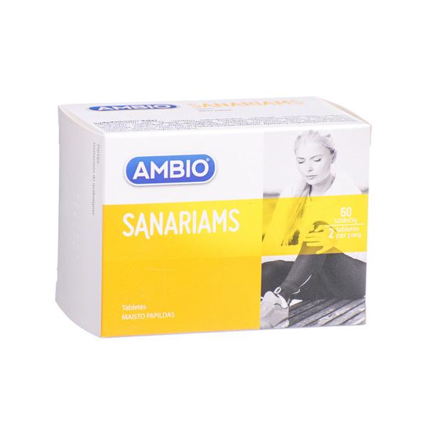AMBIO SĄNARIAMS, 60 tablečių  paveikslėlis