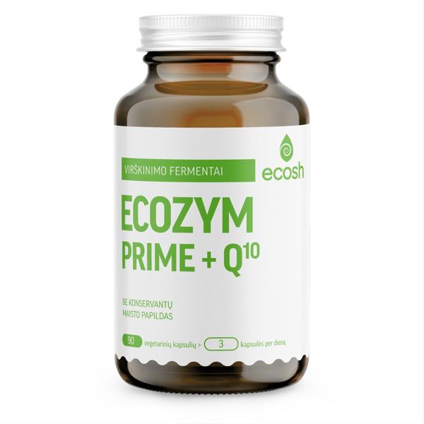 ECOSH Ecozym Prime fermentai + Q10, 90 kapsulių paveikslėlis