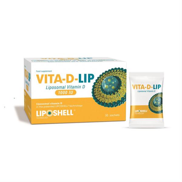 VITA-D-LIP 1000, liposominis vitaminas D 1000 TV, 5 ml, 30 vnt. paveikslėlis