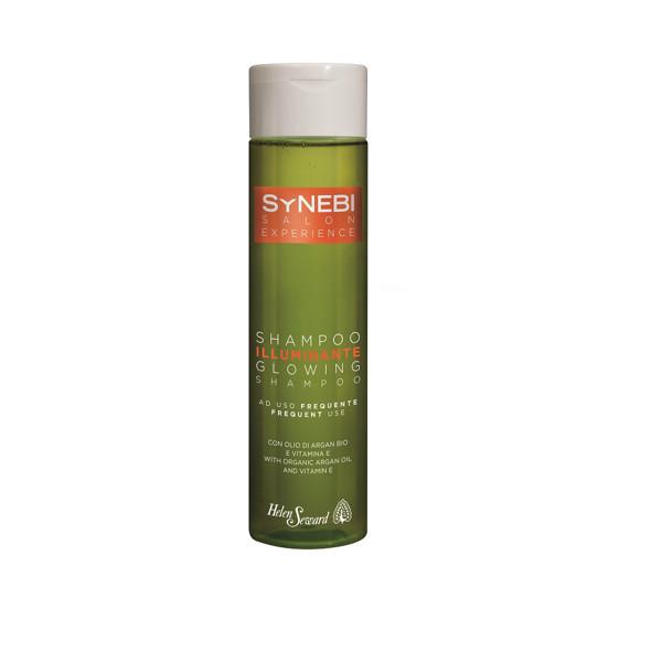 Helen Seward Synebi plaukams blizgesio suteikiantis šampūnas, dažnam plovimui su arganų aliejumi ir Vit E, 300ml paveikslėlis