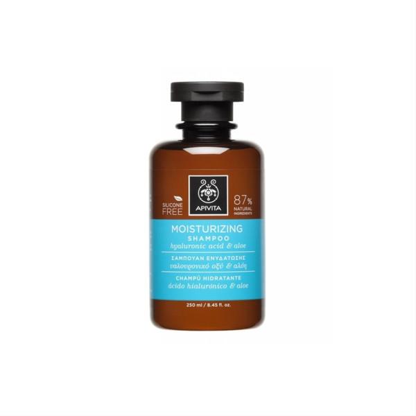 APIVITA, šampūnas, drėkinamasis, 250 ml paveikslėlis