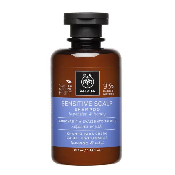 APIVITA, šampūnas jautriai galvos odai, 250 ml paveikslėlis
