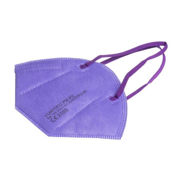 YUNYIFU RESPIRATORIUS FFP2 X 10 VNT. (violetinės spalvos) paveikslėlis