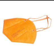 YUNYIFU RESPIRATORIUS FFP2 X 10 VNT. (oranžinės spalvos) paveikslėlis