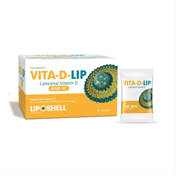 VITA-D-LIP 4000, liposominis vitaminas D, 4000TV, 5 ml, 30 vnt. paveikslėlis