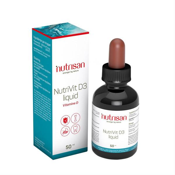 NUTRIVIT, vitaminas D3, lašai visai šeimai, 50 ml paveikslėlis