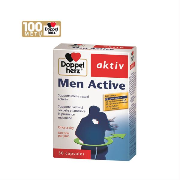 DOPPELHERZ AKTIV MEN ACTIVE, 30 kapsulių paveikslėlis
