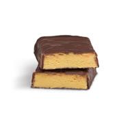 Layenberger šokolado ir bananų skonio baltyminis batonėlis be cukraus, 35g paveikslėlis
