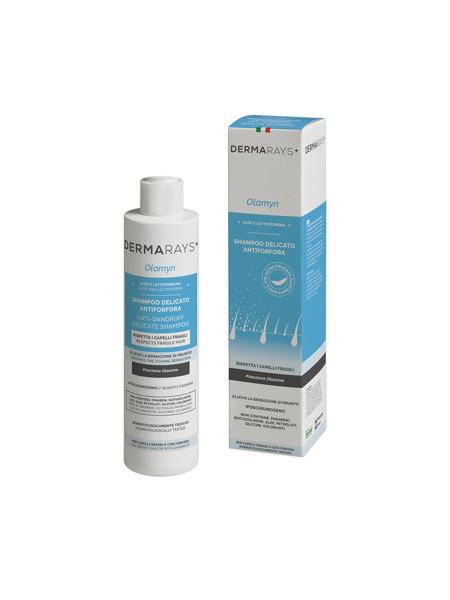 DERMARAYS OLAMYN Švelnus šampūnas nuo pleiskanų su alijošiumi ir laktoferinu, 250 ml paveikslėlis