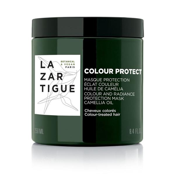 LAZARTIGUE COLOR PROTECT, spalvą ir švytėjimą išsauganti plaukų kaukė dažytiems plaukams, 250 ml paveikslėlis