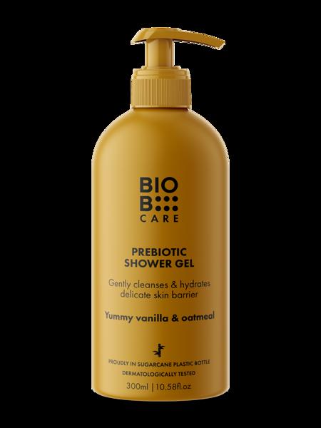 BioB kūno prausiklis su prebiotikais, 300 ml paveikslėlis
