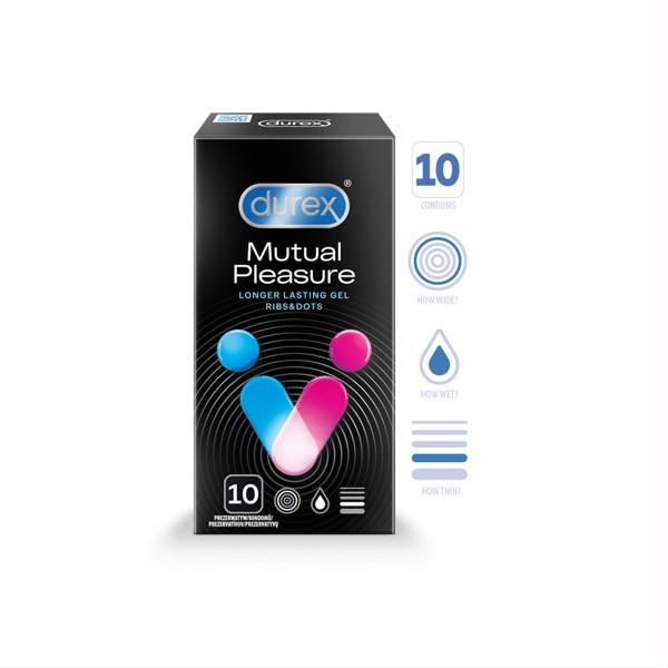 DUREX PERFORMAX INTENSE, prezervatyvai, 10 vnt. paveikslėlis