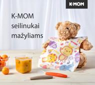 K-MOM vienkartiniai seilinukai (20 vnt.) paveikslėlis