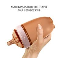heorshe Ultra Wide Neck buteliukas, 160ml., pilkas paveikslėlis
