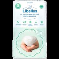 """Libellys Dermo-Sensitive"" sauskelnės M (4-9kg) 54 Vnt. paveikslėlis"