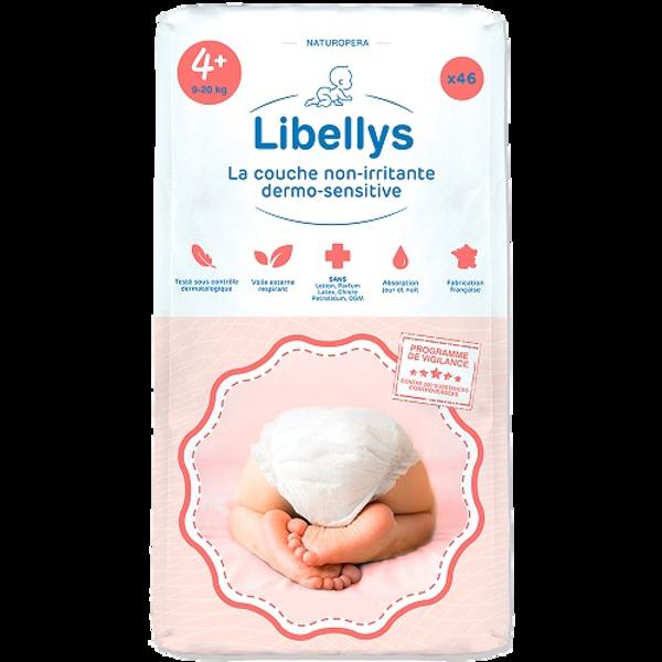 """Libellys Dermo-Sensitive"" sauskelnės XL (9-20 kg) 46 Vnt. paveikslėlis"