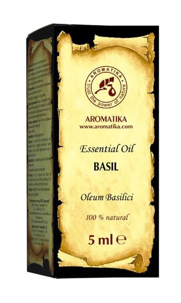 Bazilikų eterinis aliejus 5ml. paveikslėlis