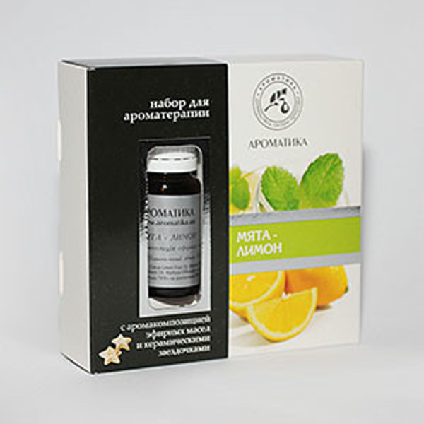 """Eterinių aliejų mišinys aromaterapijai ,,Mėta- Citrina"""" 10ml. paveikslėlis"""